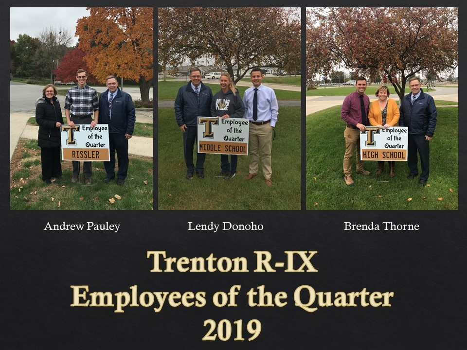 Employees of the Quarter