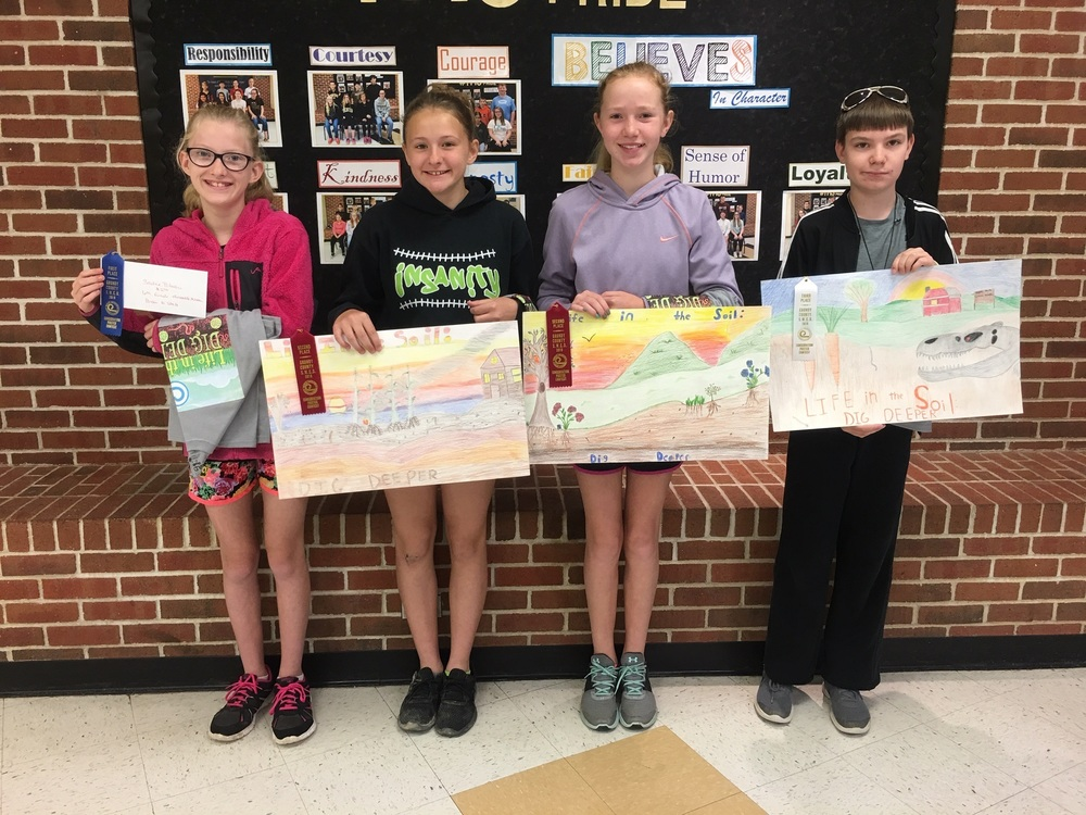 6th Grade Poster Winners