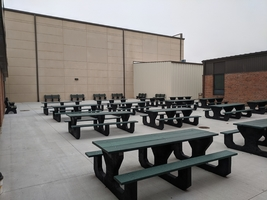 THS-TMS Outdoor Courtyard Is Complete