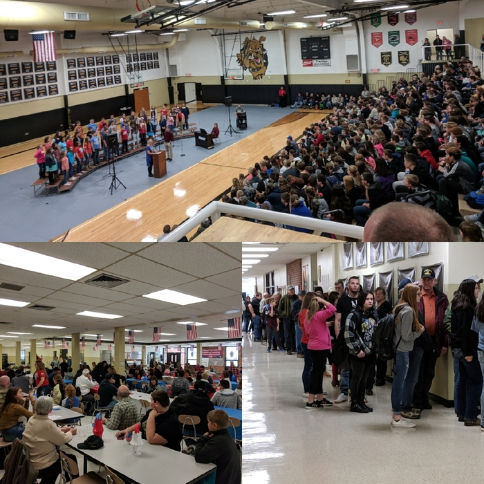 2018 Veterans'Day Assembly